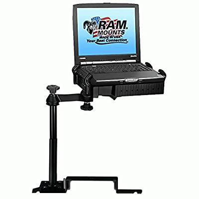 RAM MOUNTING SYSTEMS RAM-VB-187-SW1 S 414 No-Drill Laptop Mount for FordExplorer & Ram Mounts, RAM-VB-187-SW1, Mounting Hardware, GPS & Navigation
