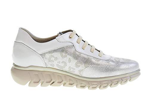 Zapatillas argento Bianco argento Zapatos Bianco Bajas Callaghan Mujer 13904 qE8CZA
