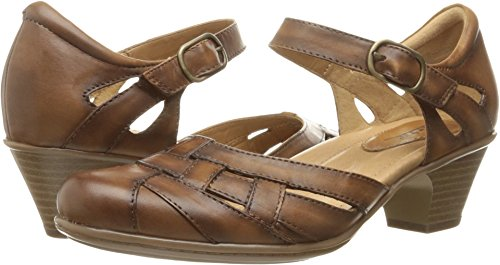 Earth Women's Lynx Mary Jane,Sand Brown Soft Leather,US 10 W