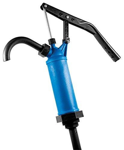 Pneumatic Pump Drum (Performance Tool W54268 Blue General Purpose Lever Action Barrel Drum Pump - Fits 15 to 55 Gallon Drums)