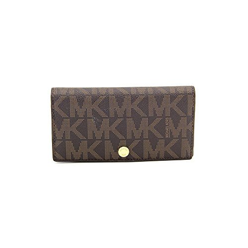 b09bfb88ba514e Michael Kors MK Logo Signature Slim Snap Wallet - Buy Online in Oman. |  Accessory Products in Oman - See Prices, Reviews and Free Delivery in  Muscat, Seeb, ...