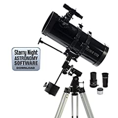 Amateur astronomers will love the user-friendly features of Celestron's PowerSeeker series of beginner telescopes. The Celestron PowerSeeker 127EQ is an easy-to-use and powerful telescope. PowerSeeker Series Celestron telescopes have been des...