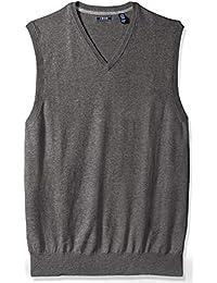 Men's Big and Tall Premium Essentials V-Neck Sweater Vest