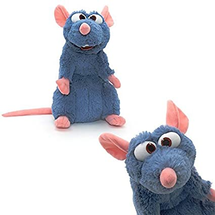 Official Disneyland Paris Ratatouille 30cm Remy Soft Plush Toy by Disney