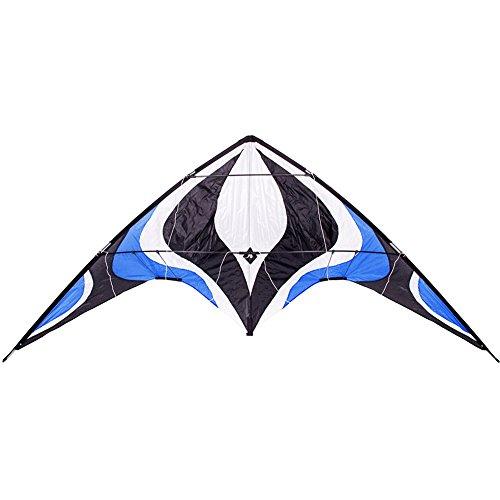 Babyeden Blue Sport Prism Delta Dual-Line Stunt Kite, 84-Inch -