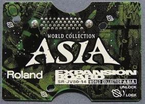 ROLAND Roland SR-JV80-14 SR JV 14 World Collection Asia expansion board sound module Rolandd