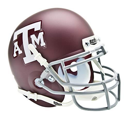NCAA Texas A & M Collectible Mini Football - Helmet Schutt Football Size Full