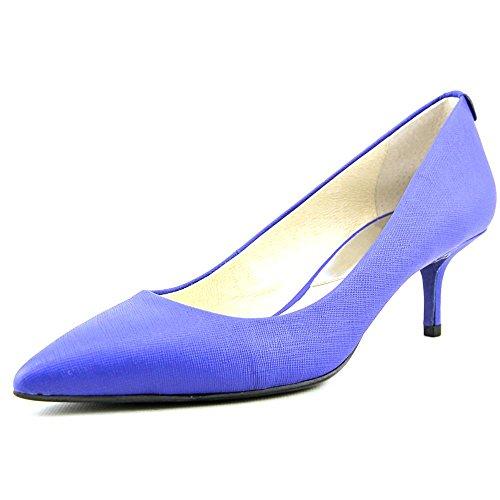 MICHAEL Michael Kors MK-Flex Kitten Pump Heel (Electric Blue, 8)