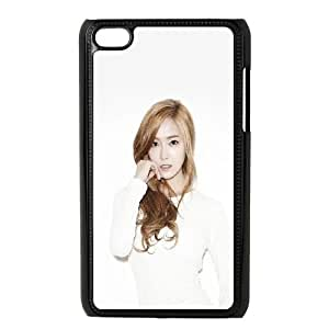 iPod Touch 4 Case Black Jessica Snsd Kpop OJ504245