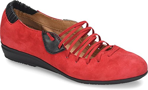 Comfortiva - Womens - Excel Fire Red Suede 9FKqOQ2