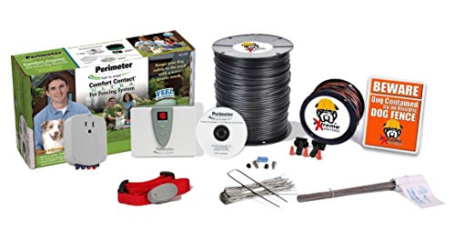 Perimeter Technologies Ultimate Electric Dog Fence Pro-Grade DIY Kit (1 to 2 Acres Coverage Area) (1 Dog Kit) For Sale