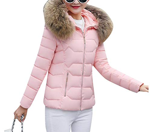 Collar Pockets AS3 Coat Fur Big Fashionable Jacket Down Brumal Women Howme wI47Yn