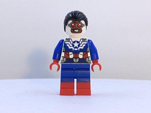 Custom Lego Sam Wilson Minifig Marvel Super Hero Captain America Falcon Avengers
