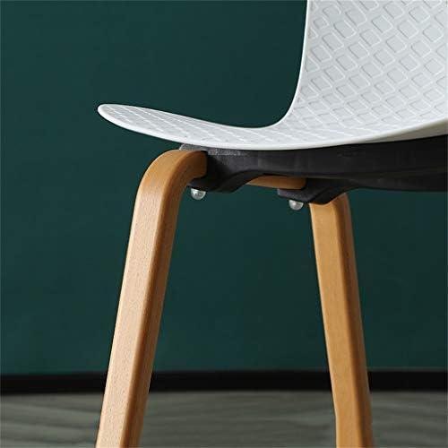 Chaises de Salle à Manger, Design Ergonomique, Matériau écologique et sain, Facile à Installer, Facile à Assortir, for la Salle à Manger Balcon, Hauteur d'assise de 45 cm