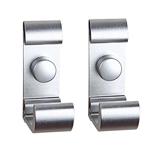 ROOS Flip Space aluminum Wall Hook Folding Hook Pack of 2 (Flip Hook)