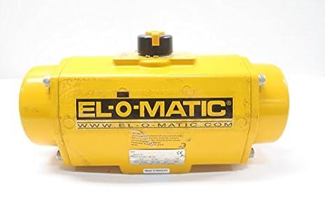 EL-O-MATIC ES0200 U2A03A S22KS0 PNEUMATIC VALVE ACTUATOR D596918