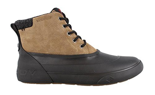 Sperry Top-Sider Men's Cutwater Deck Oxford Boot, Noce/Black, 7.5 M US by Sperry Top-Sider