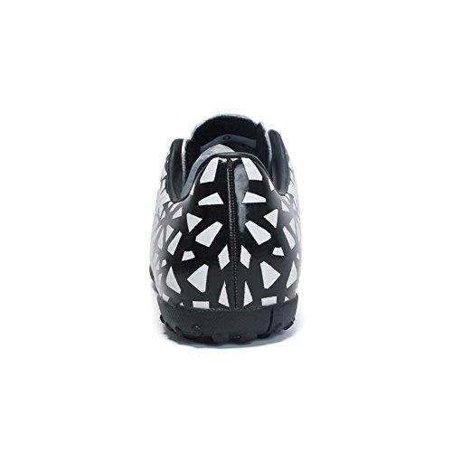 Adolescents Football Football Chaussures Unisexes en Pour de Chaussures Blanc Plein Air D'Entraînement Chaussures r Mengxx de 0vCBfxqE