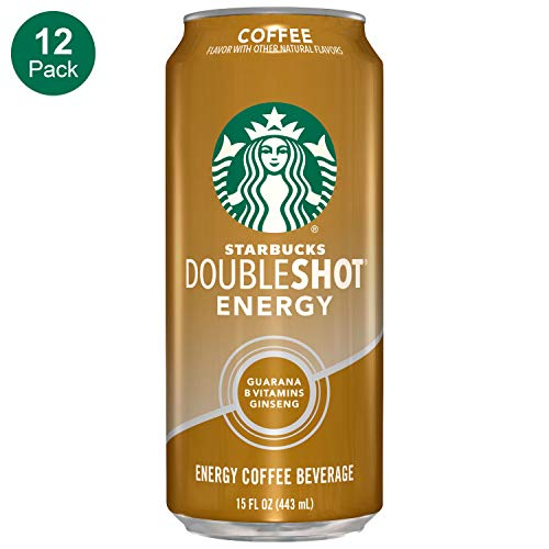 - Starbucks, Doubleshot Energy Drink, Coffee, 15 fl oz. cans (12 Pack)