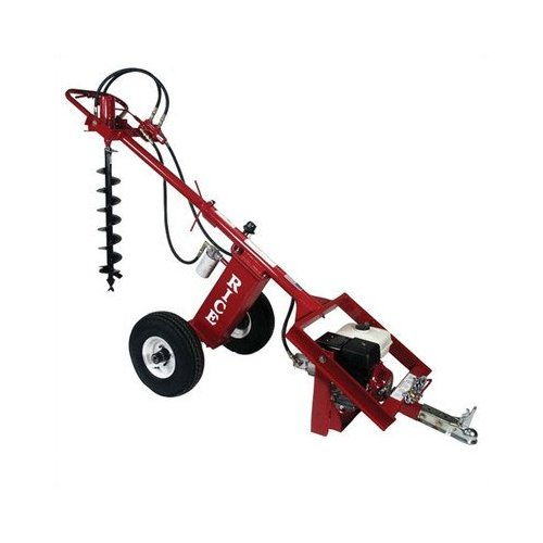 Rice Hydro DIRTDAWG-9HON-T Hole Digger/Earth Auger, Honda 9 hp with Kill Switch