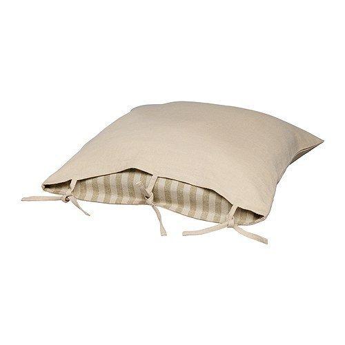 roming-shop IKEA Ursula Funda de cojín, Beige 100% Material ...