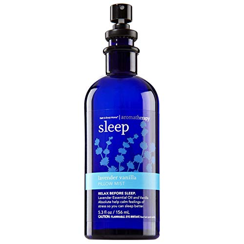 Bath & Body Works Aromatherapy Pillow Mist Sleep - Lavender Vanilla, 5.3 Fl Oz