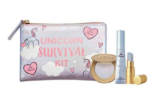 Too Faced Limited Edition Unicorn Survival Kit - Mystical Lip & Highlighter Set -