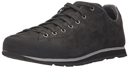Scarpa Mens Men's Scarpa Margarita Leather Casual Shoe Sneaker, Black, 45.5 Medium EU (11 2/3 US) by Scarpa Mens
