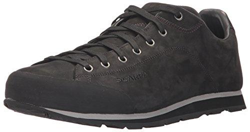Scarpa Mens Men's Scarpa Margarita Leather Casual Shoe Sneaker, Black, 45.5 Medium EU (11 2/3 US) by Scarpa Mens