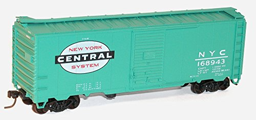 Accurail Model Trains Ho 40' AAR Steel Single Door Boxcars New York Central (Door Single Boxcar Aar)