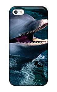 7516158K36481833 Iphone Cover Case - Dolphins Protective Case Compatibel With Iphone 5/5s