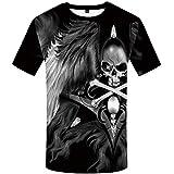 Best City Shirts Friend Funnies - KYKU Skull T Shirts for Men Anime Shirt Review