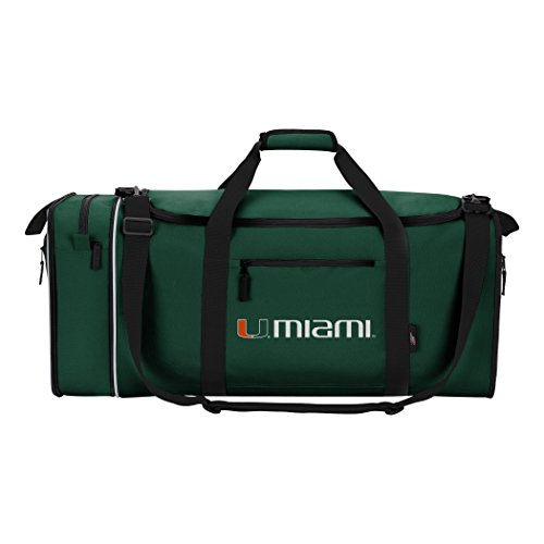 - Officially Licensed NCAA Miami Hurricanes Steal Duffel Bag
