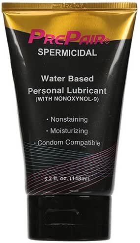 ForPlay Prepair Spermicidal Personal Moisturizer Tube, 5.2 fl. oz.
