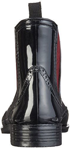Mustang 3121-501, Botines para Mujer Negro (95 schwarz/rot)