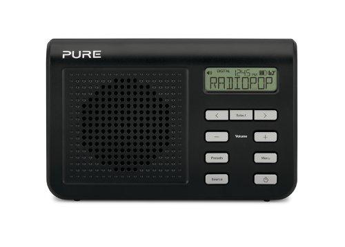 28 opinioni per Pure One Mi Series 2 Radio Portatile Digitale e FM, Nero