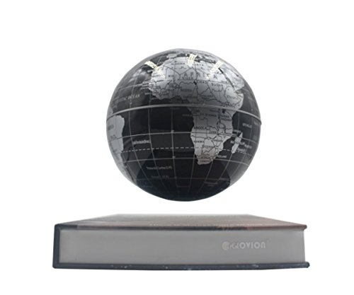 Glovion book style anti gravity globe with world map novelty glovion book style anti gravity globe with world map novelty inductive magnetic levitation floating suspending globe home office decoration 55 inch black gumiabroncs Gallery
