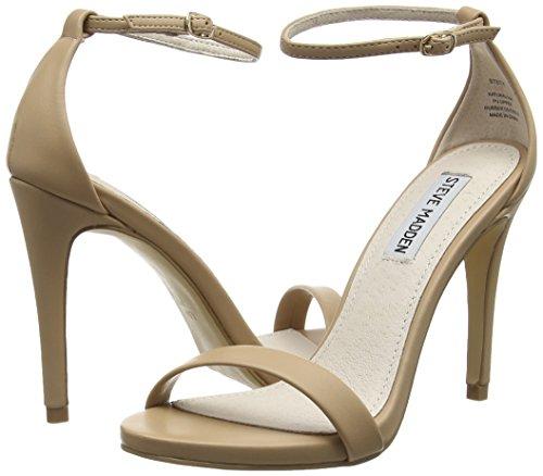 Steve Ankle 11007 Beige Strap Pumps Women's Stecy natural Footwear Madden PTCxwqrIP