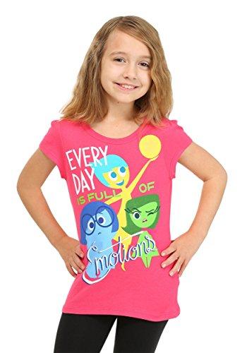 Disney Little Girls' Short Sleeve Every Day is Full of Emoti