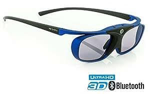 "Hi-Shock RF Pro""Deep Heaven"" | 3D Glasses for FullHD/HDR /4k Sony & JVC 3D Projector | VPL-HW65ES, 45ES, VW365, VW350, VPL HW54ES, TDG-BT500A, X105-RF-X1 | JVC RS 400 etc | PK-AG3, PK-EM2"