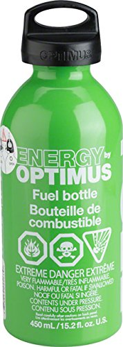 Expedition Fuel Bottle Cap - Optimus Fuel Bottle with Child Safe Cap, .6-Liter