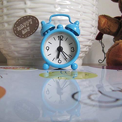 Amazon.com: projection alarm clock Creative Cute Mini Metal Small Alarm Clock Reveil: Clothing