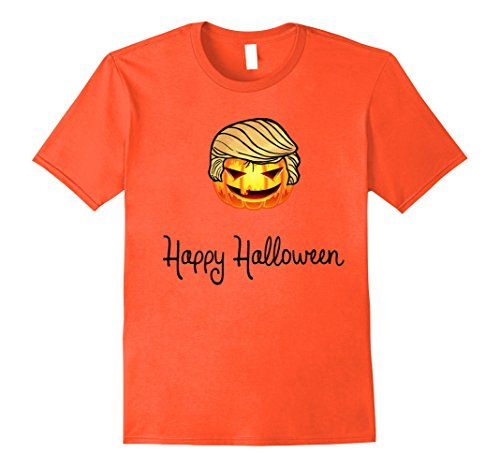 Halloween Costumes Creative Pun (Mens Happy Halloween Scary Pumpkin Costume T-Shirt Small)