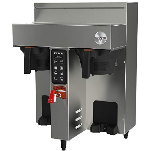 Fetco CBS-1132 V+ Extractor Twin 1.0G Automatic Coffee Brewer 240V ()