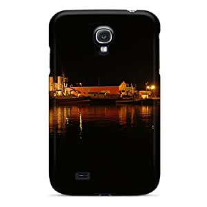 Durable Wharf At Night Back Case/cover For Galaxy S4