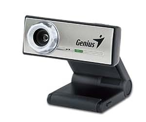 Genius iSlim 300X - Webcam (0.3 MP, 640 x 480 Pixeles, 30 fps, USB 1.1, Negro, Plata, CMOS)