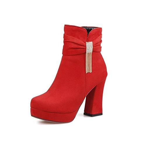 Chelsea Chelsea Red mujer Botas mujer AdeeSu AdeeSu Red Botas qYAwdH7