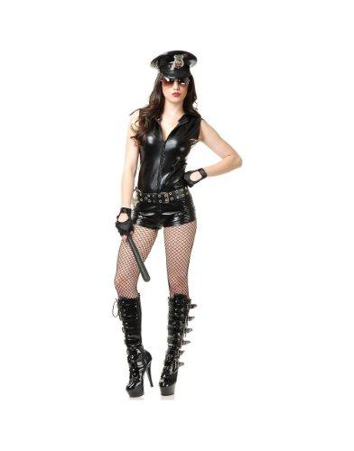 Sergeant Slick Costume - Large - Dress Size 11-13 (Sexy Sergeant Costume)