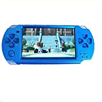 Oyrl PSP Game Console with 10000 Games, Music, Alarm, Calculator, Camera, SD Card Slot And 1 Set Cartoon Earphone/Minion Earphone