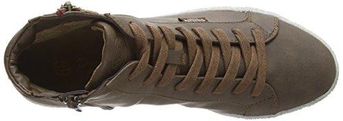 Dockers by Gerli 32LN213-636380 Damen Hohe Sneakers Braun (dunkelbraun 380)